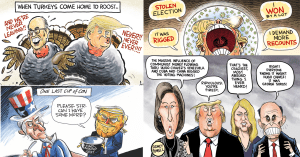 CartoonState Nov 29 Political Cartoon Round-Up