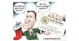 Hall of Shame for Pardoned General Mike Flynn