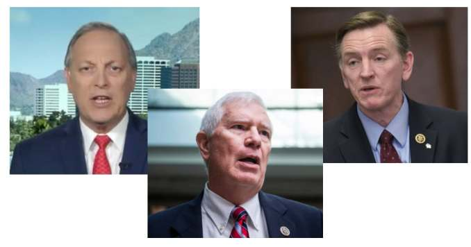 Republican Congressmen Andy Biggs (MO), Mo Brooks (?) and Paul Gosar (AZ) accused of helping organize Jan. 6 deadly Capitol riot