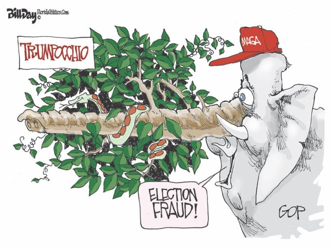 Election Fraud by Bill Day, Tallahassee, FL
