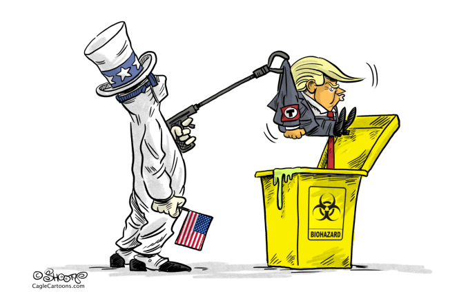 The End of The Biohazard Presidency by Martin Sutovec, Slovakia
