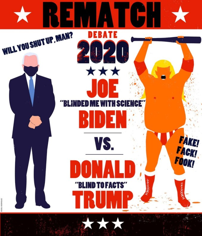 Trump v Biden, Let's Get Ready to Rumble