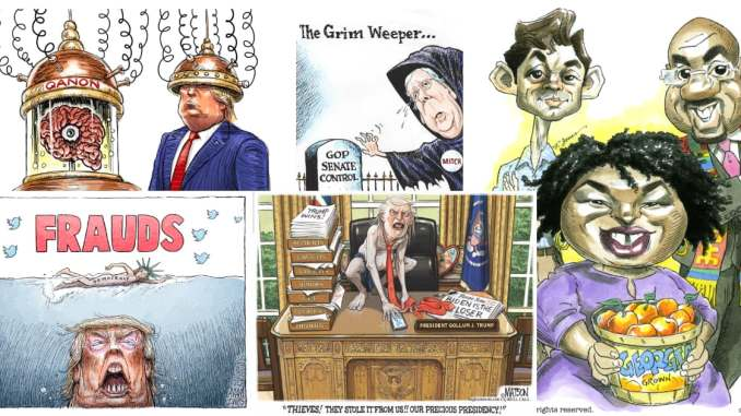 This Week in Cartoons on CartoonState.com - Before the Capitol Edition