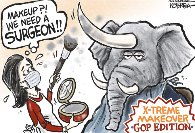 GOP Makeover by Jeff Koterba, CagleCartoons.com