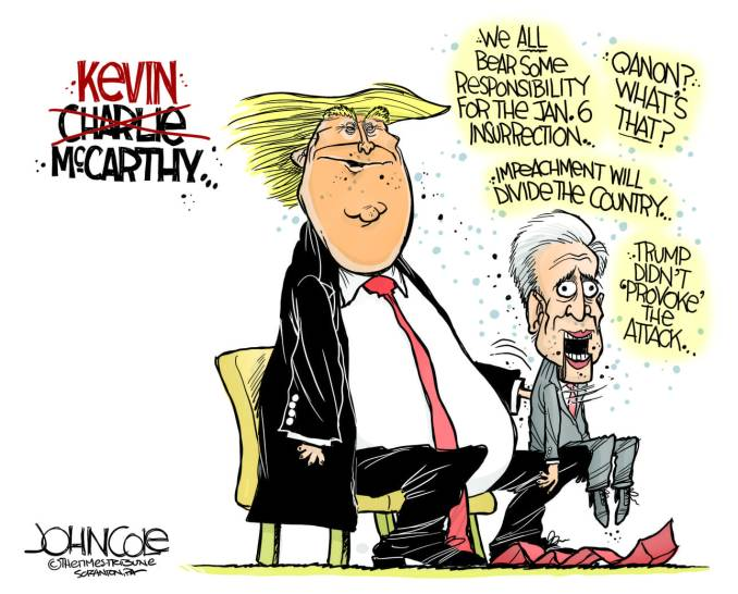 McCarthy the Dummy by John Cole, The Scranton Times-Tribune, PA