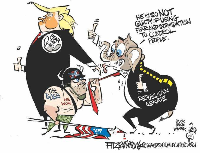 The Mobster's Mob by David Fitzsimmons, The Arizona Star, Tucson, AZ