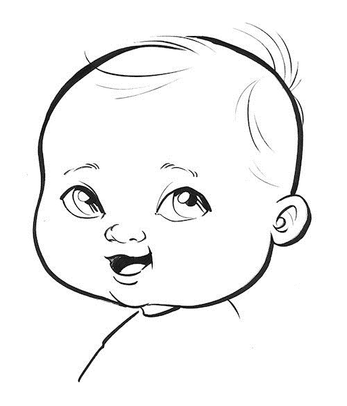 Lesson Seven How To Draw Babies Cartoon Vegas