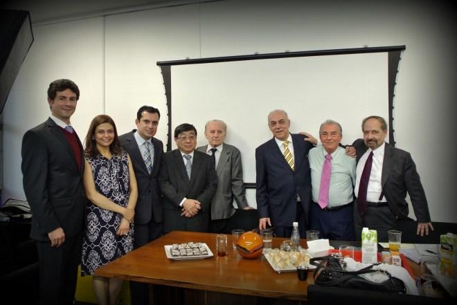 Figura 4 - Registradores e magistrados prestigiam o evento. Foto: Nataly Cruz