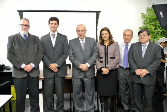 Sérgio Jacomino, Renato Nalini, des. Ricardo Dip, Dra. Tânia Mara Ahualli, Ademar Fioranelli e George Takeda