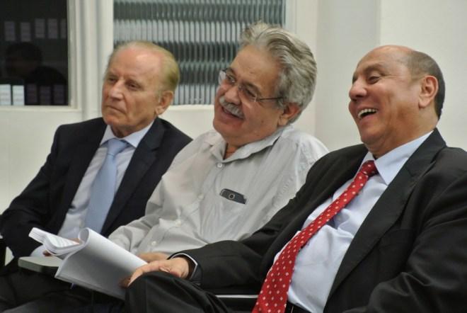 Armando Clápis, Paulo Tupinambá Vampré e Jersé Rodrigues da Silva.