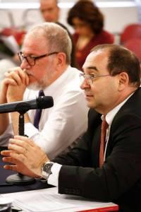 Sérgio Jacomino e des. Luís Paulos Aliende Ribeiro