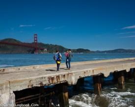 Golden Gate Bridge from Crissy Field, San Francisco, 2016