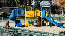 Playground (Where's the kids?) Rinconada Park, 2016