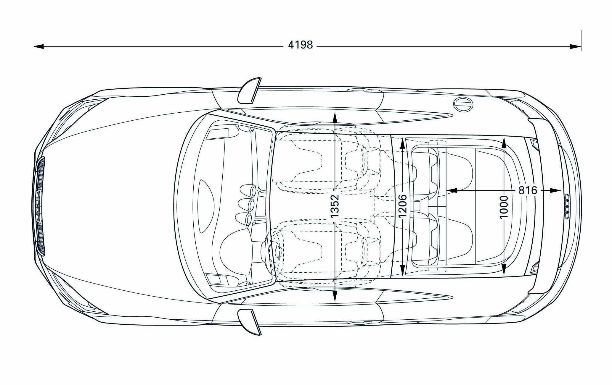 Interior Vehicle Diagram