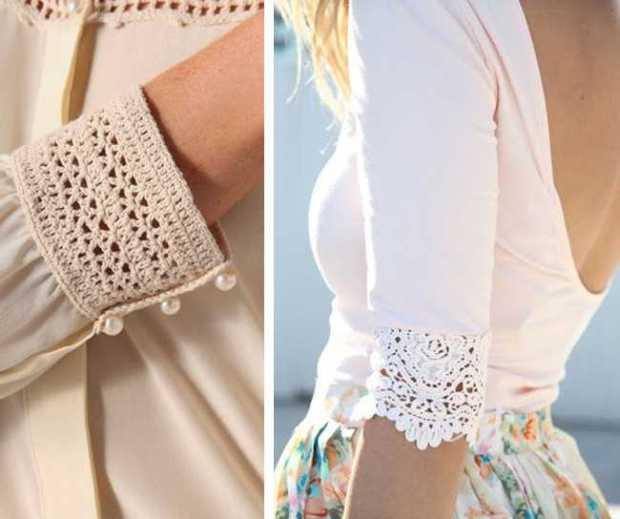 Krásnější oblečení díky krajkám a háčkování_3
