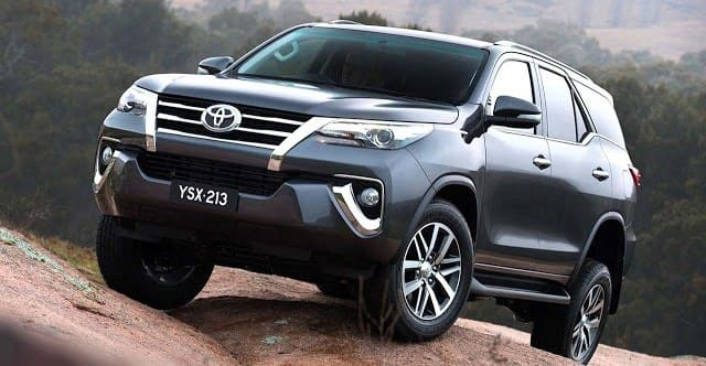 SUV 7-seater Indonesia - Toyota Fortuner 2016