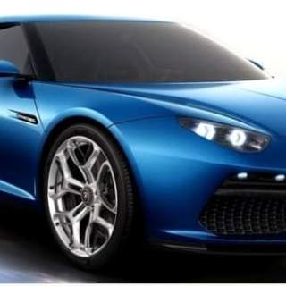 Lamborghini Asterion - Elegant Concept - front