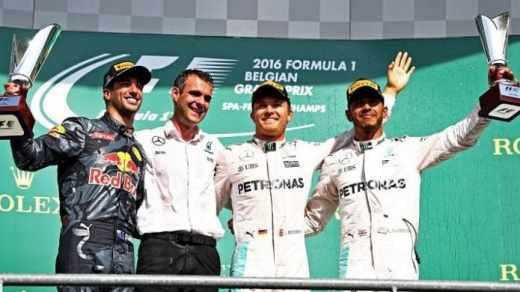 F1 GP Belgia 2016