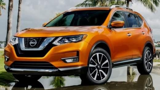 Nissan X-Trail 2017 Facelift - Orange main color