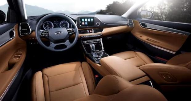 All New Hyundai Azera 2017 - interior