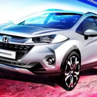 Sketsa Honda WR-V - sketsa resmi Honda Jazz Cross