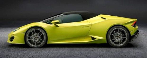 Lamborghini Huracan Spyder Soft top