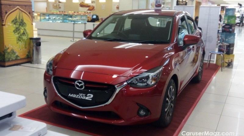 Mazda2 Facelift 2017