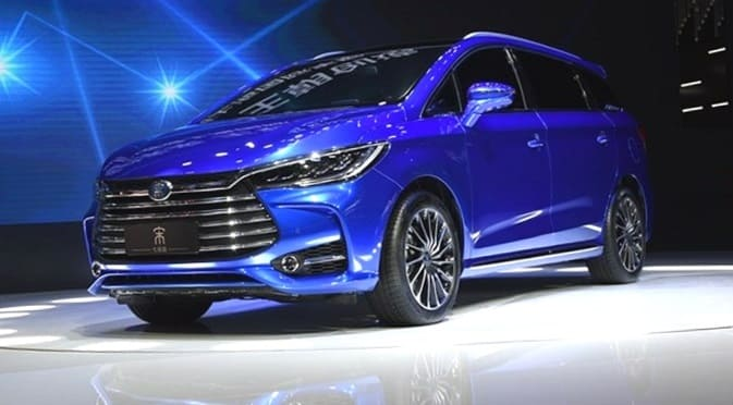 All New BYD Song-7 - Kembaran Innova