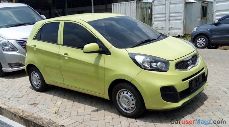 Fitur Rangka Body KIA All New Picanto 2016