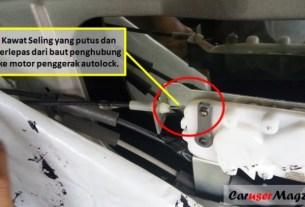 Autolock - Central lock pintu mobil tidak berfungsi