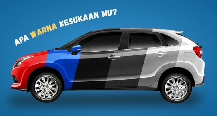 Warna Suzuki Baleno Hatchback Indonesia 2017