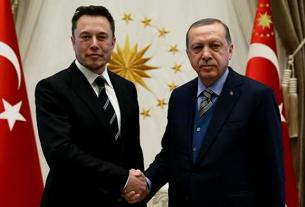 Elon Musk temui Erdogan