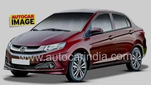 Honda Brio 2018 - New Amaze 2UB render