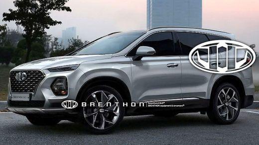 Hyundai Santa Fe Generasi Baru - Rendering Brenthon