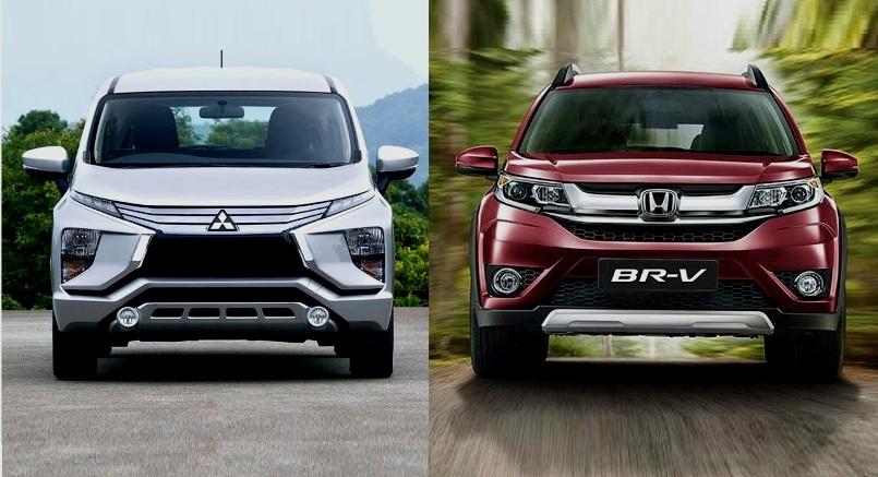Mitsubishi Xpander vs Honda BR-V