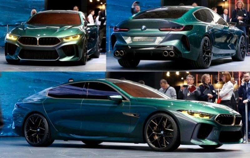 BMW M8 Gran Coupe Concept Views - Geneva 2018