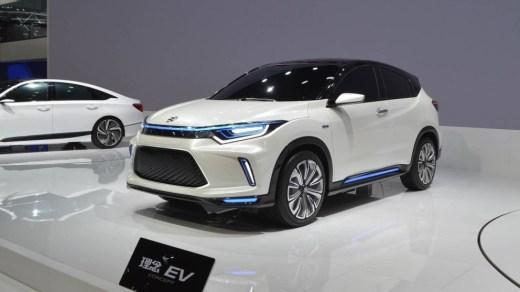 Honda HR-V Listrik - Honda Everus EV
