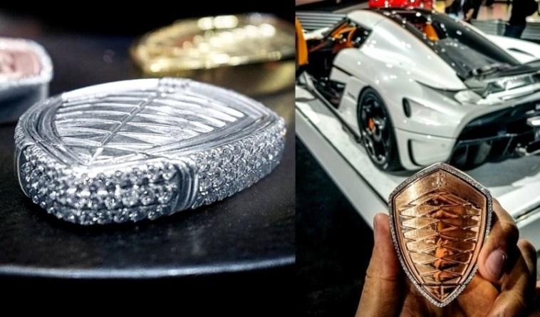 Kunci Koenigsegg Regera berlian