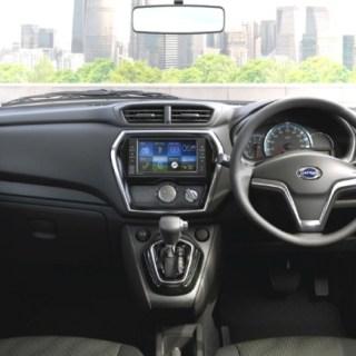 Interior Datsun Go+ Matic