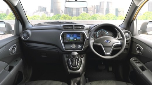 Interior Datsun Go+ Matic