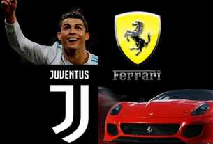 Christiano Ronaldo - Brand Ambassador Ferrari