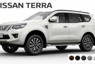 Warna Nissan Terra Indonesia