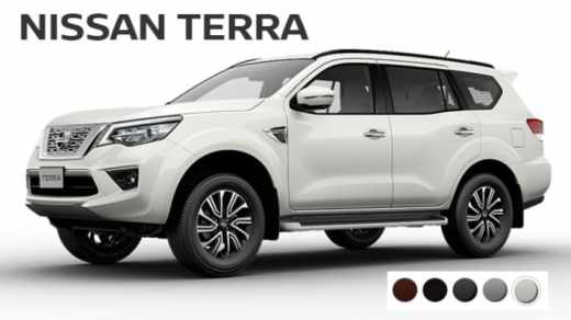 Warna Nissan Terra Indonesia