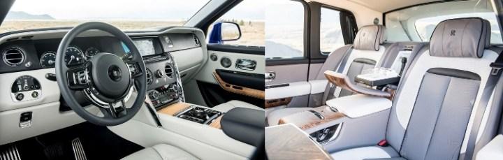 Rolls Royce Cullinan - Interior SUV Termewah di Dunia
