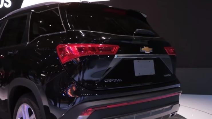 Chevrolet Captiva 2019 Amerika - Tampak Belakang