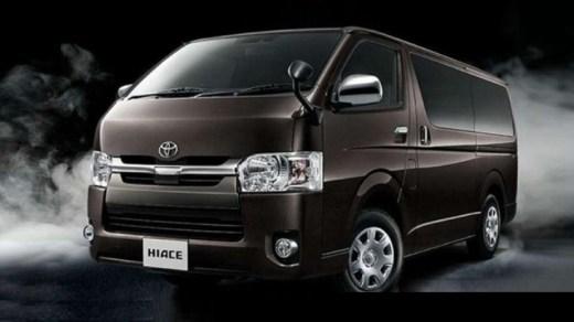 Desain Eksterior Toyota Hiace