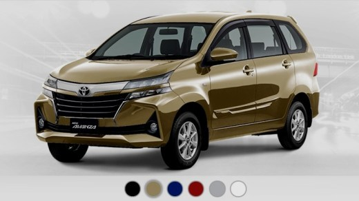 Pilihan Warna Avanza Veloz Facelift 2019