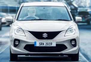 Suzuki Baleno Hatchback Facelift 2019 - IAB-SRK