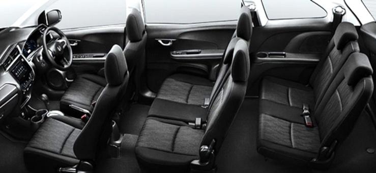Interior Honda Mobilio - Bercitarasa Sedan