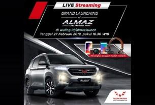 Wuling Almaz diluncurkan 27 Februari 2019
